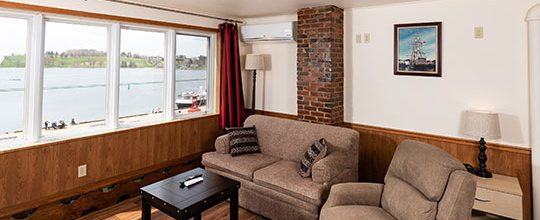 Dockside room for rent in Lunenburg Nova Scotia